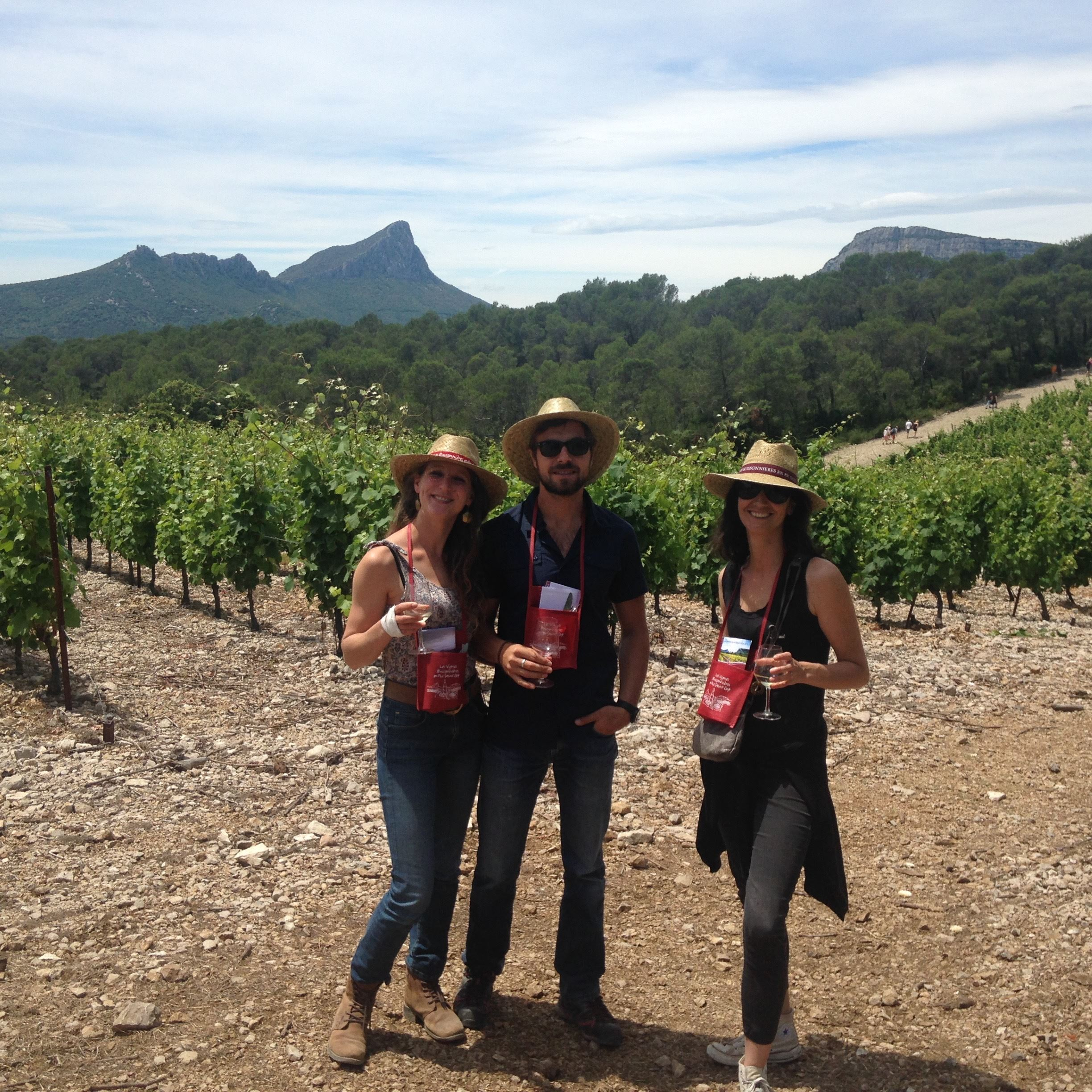 Hike & Wine in pic st. loup by Instant Terroir