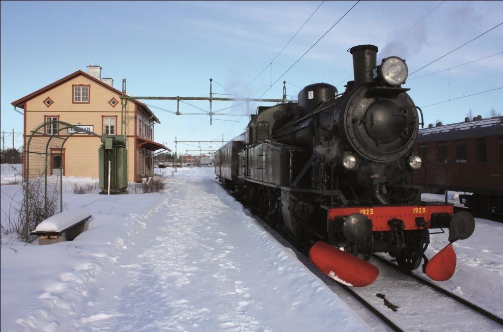 Sveriges Järnvägsmuseum,  © Sveriges Järnvägsmuseum, Ångtåg till Järnvägsmuseet