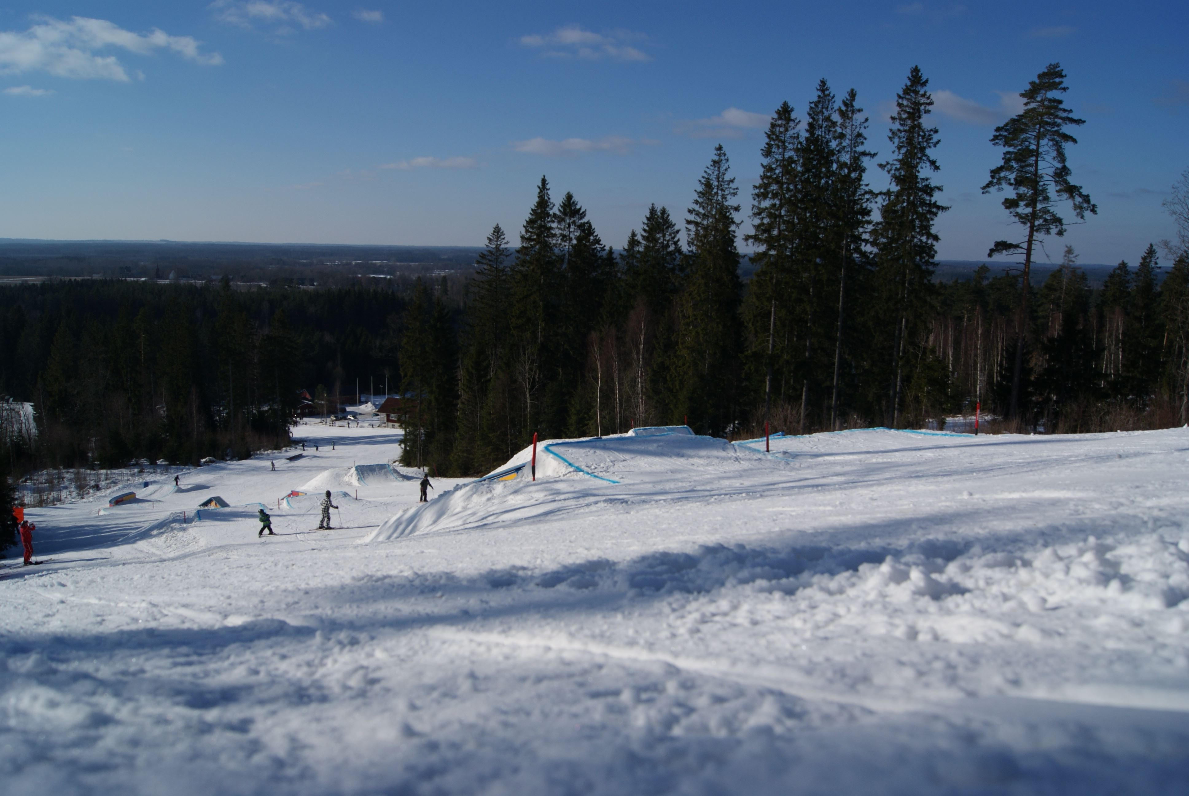 Hanaslöv ski and leisure complex