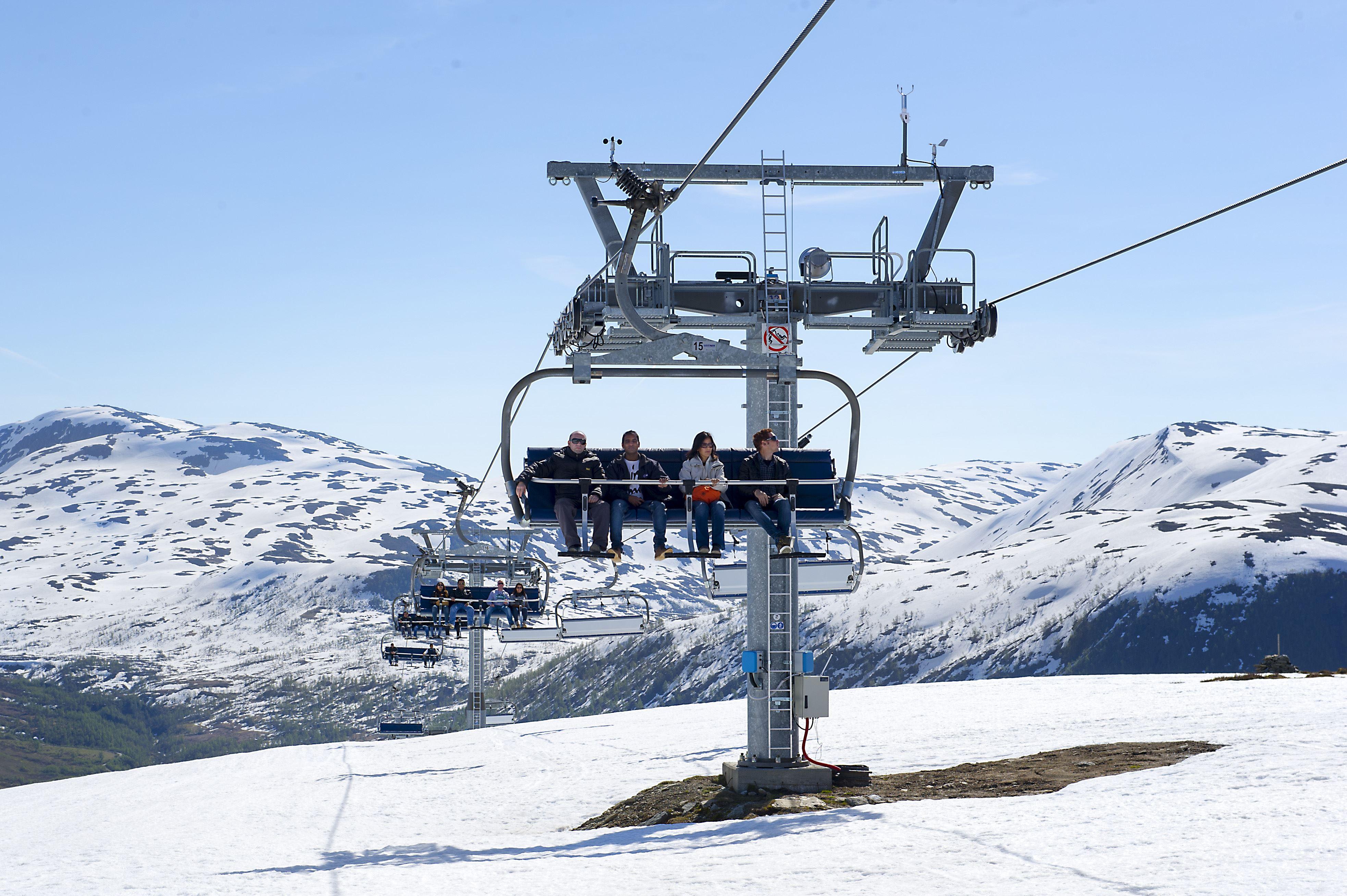 Snø Ekspress Flåm - Myrkdalen