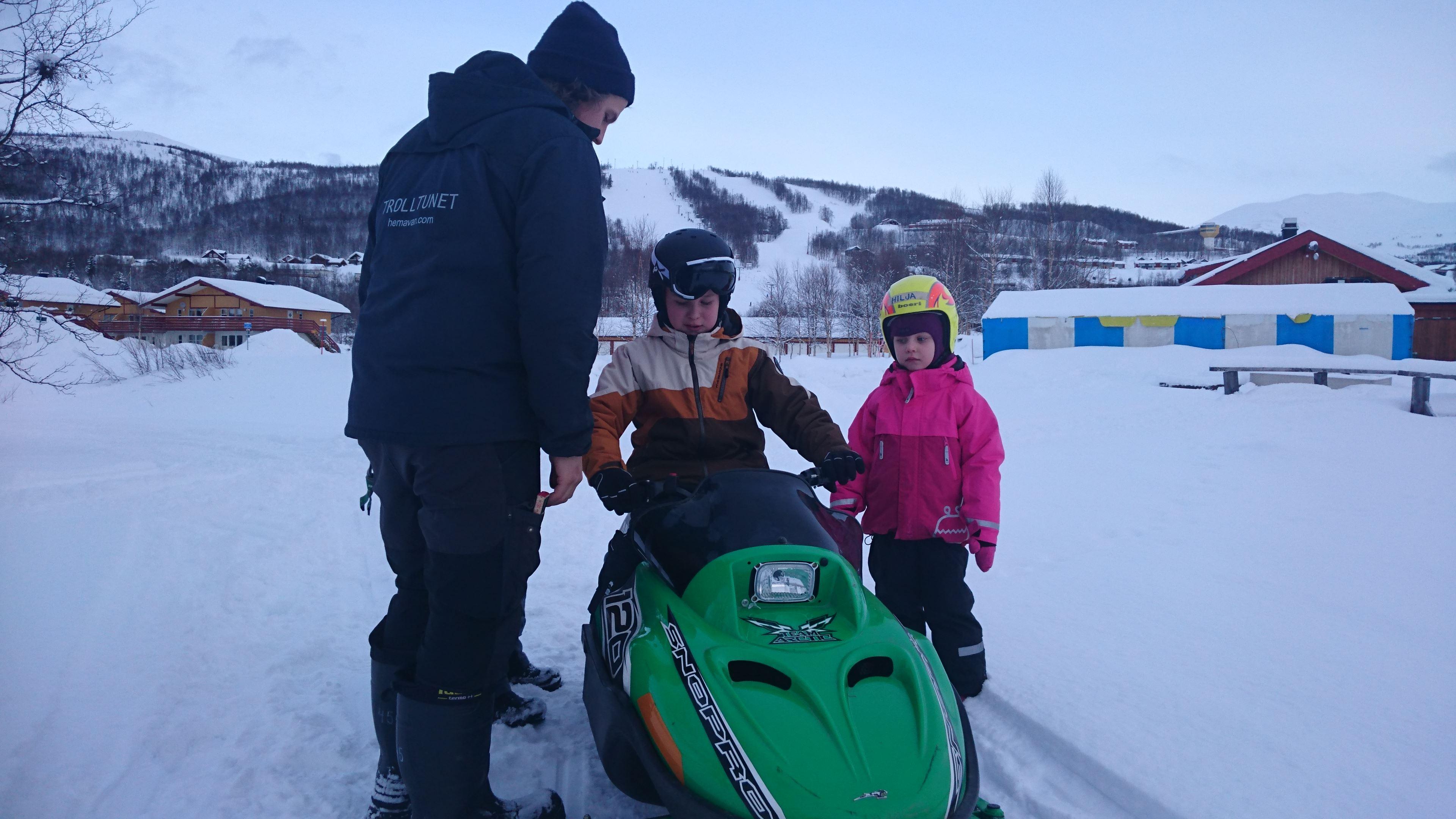 Mini Snowmobile Fun + Mini ATV Fun