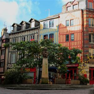 Star attractions in Rouen (guided tour in FRENCH)