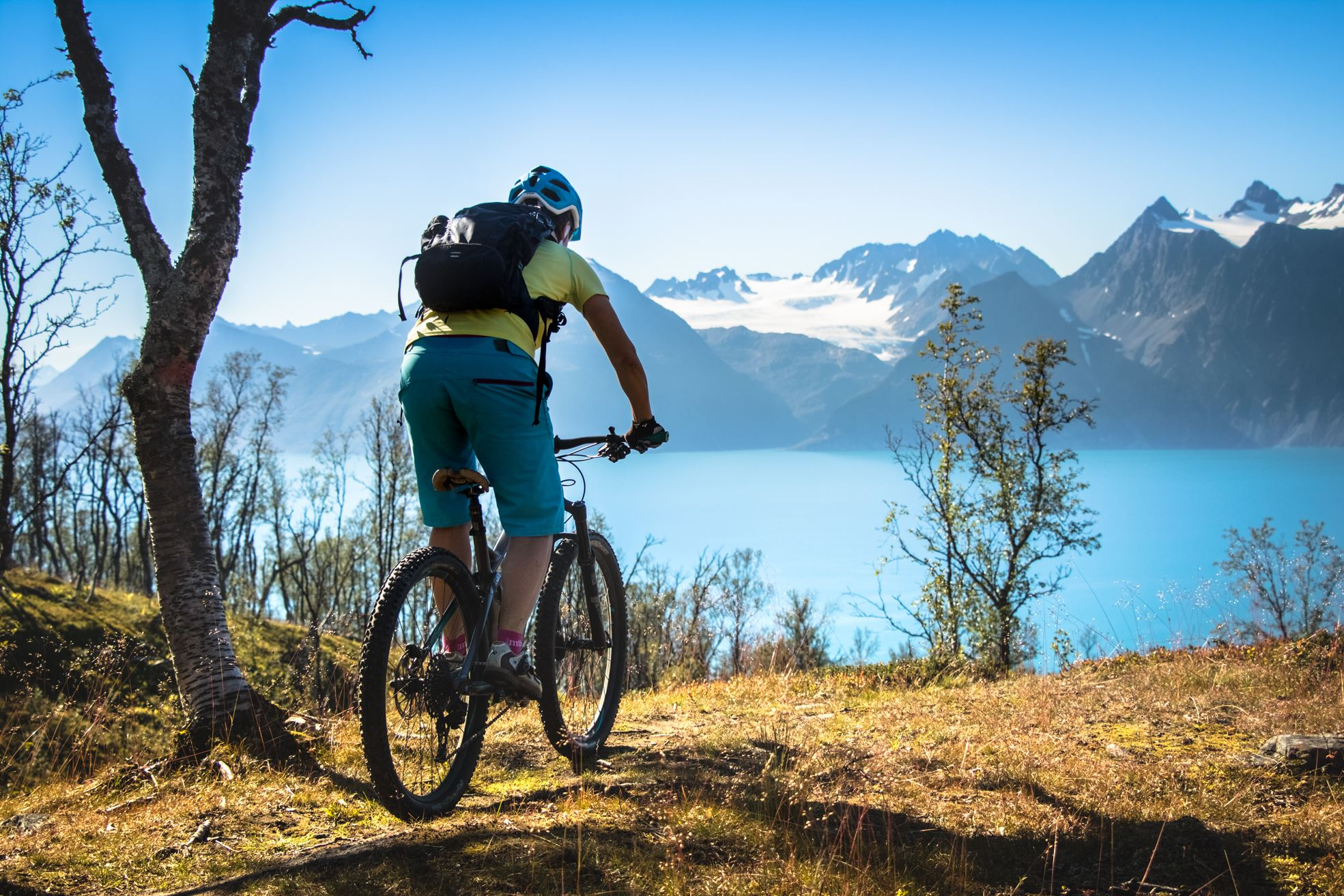 Singletrails & Flowrides at the Lyngenfjord