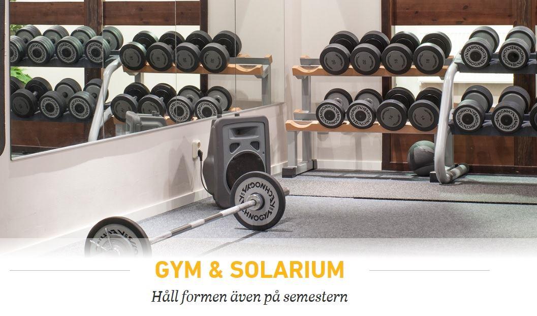 Gym & Solarium i Stöten