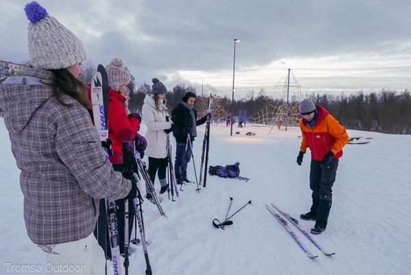 Guided Cross-Country Ski Trip - Ski Course