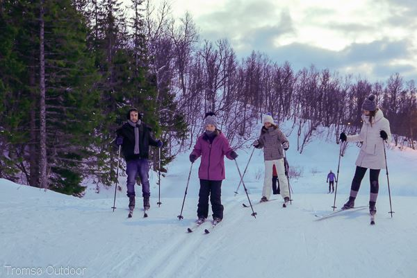Guided cross country ski trip - Tromsø Outdoor
