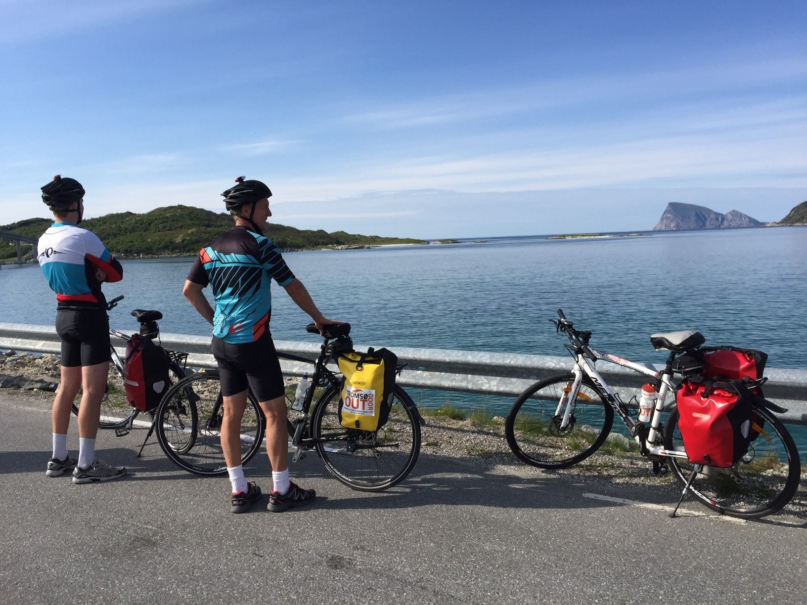 Elisabeth Müller, Biking the Island of Senja – 8 days - Selfguided or guided with luggagetransport - Discover Norway