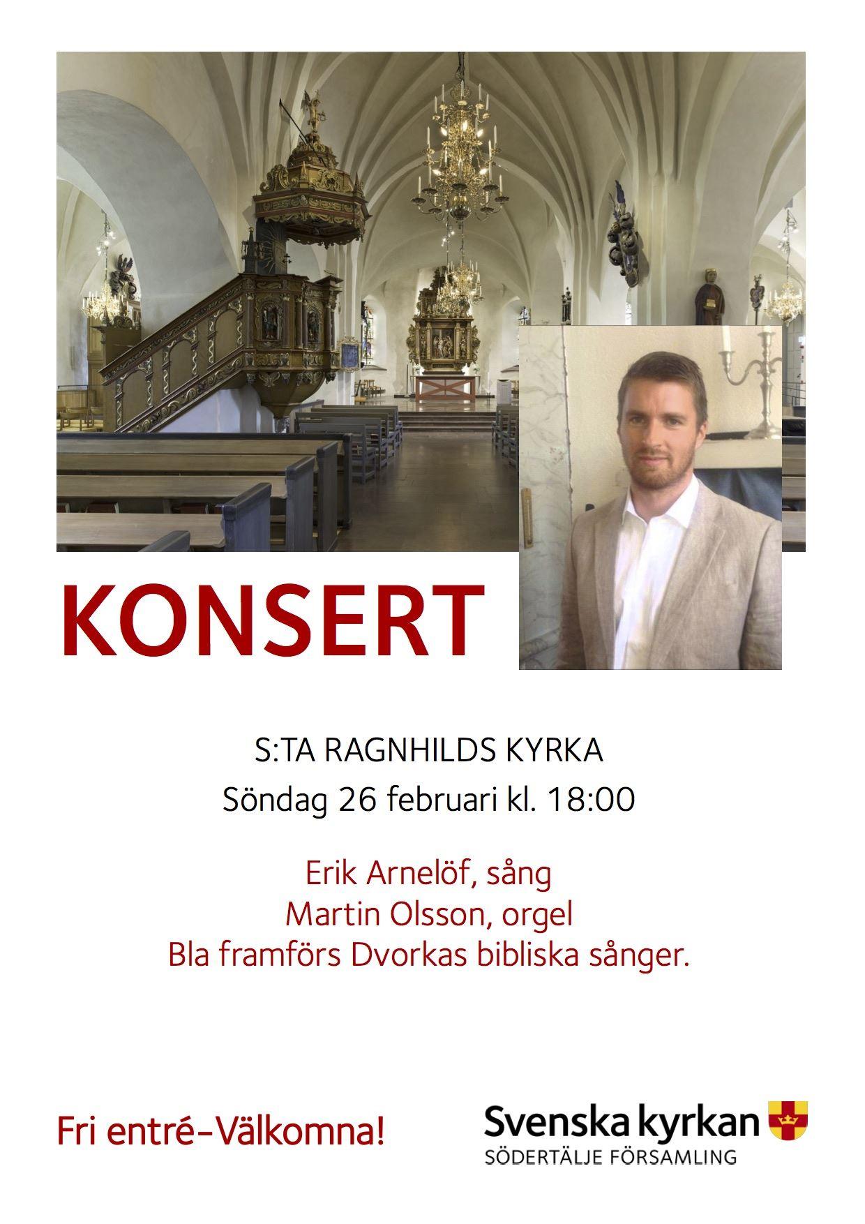 Konsert Dvoraks bibliska sånger