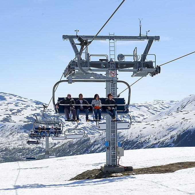 Snø Ekspress + skikort