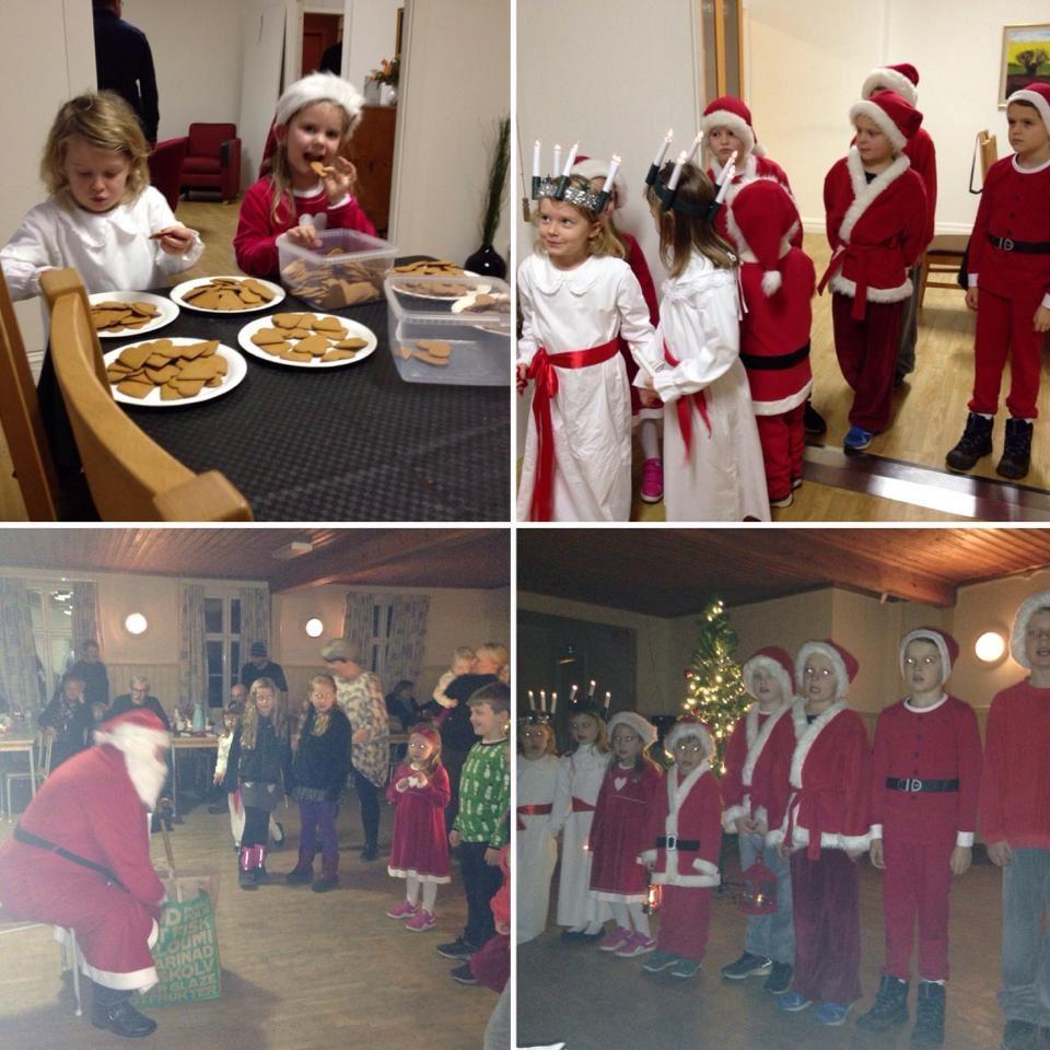 Christmas celebration & St. Lucia's Day