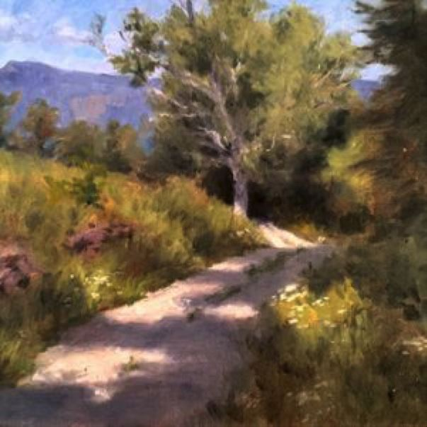 5-day course - LANDSCAPE PAINTING
