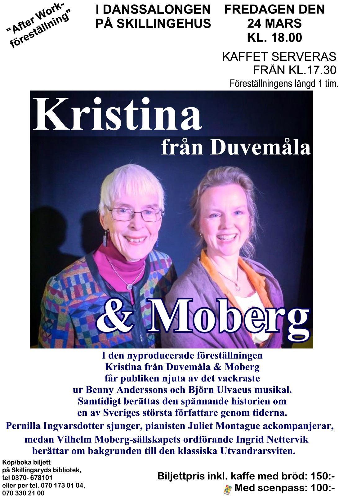 KRISTINA FRÅN DUVEMÅLA & MOBERG