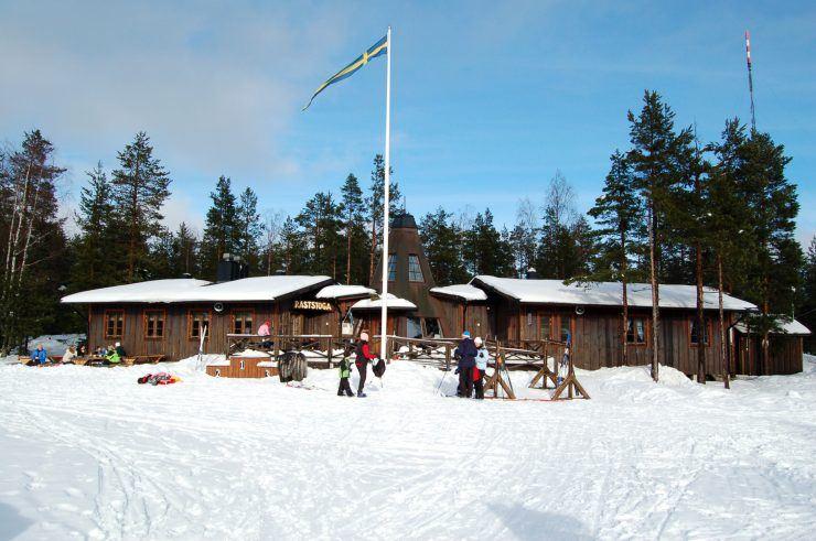 Raststugan - Friluftscentrum Södra Berget