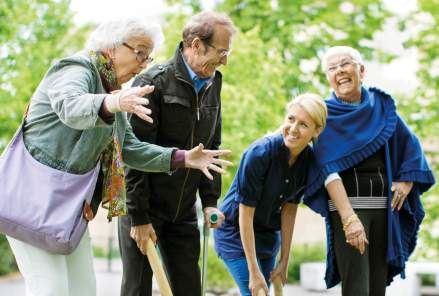 Finland 100 år - Träffpunkt för seniorer