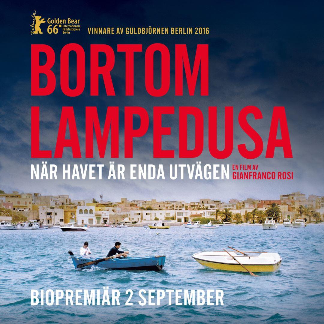 Eftermiddagsbio - BORTOM LAMPEDUSA