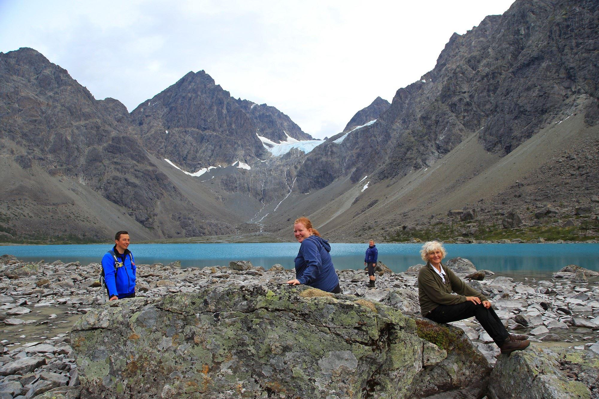 Tine Marie Hagelin,  © Tine Marie Hagelin, Summer activities under the Arctic Lights