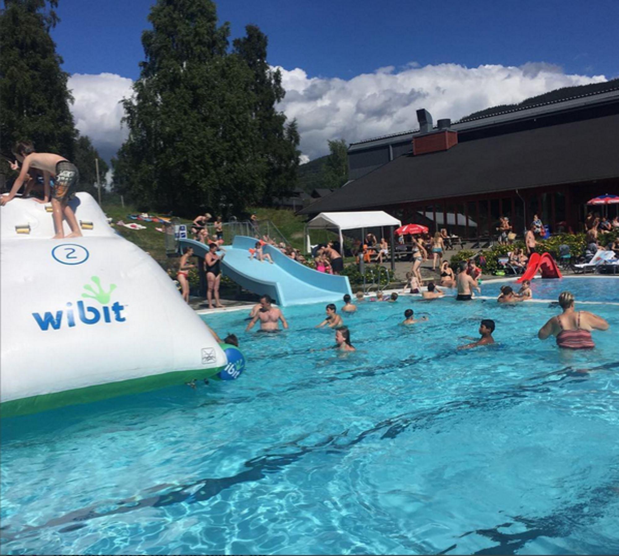 Jorekstad water park in Lillehammer region