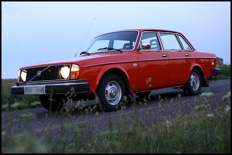 Car exhibition - VOLVO 240