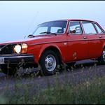 Car exhibition - Volvo 240/260 cars