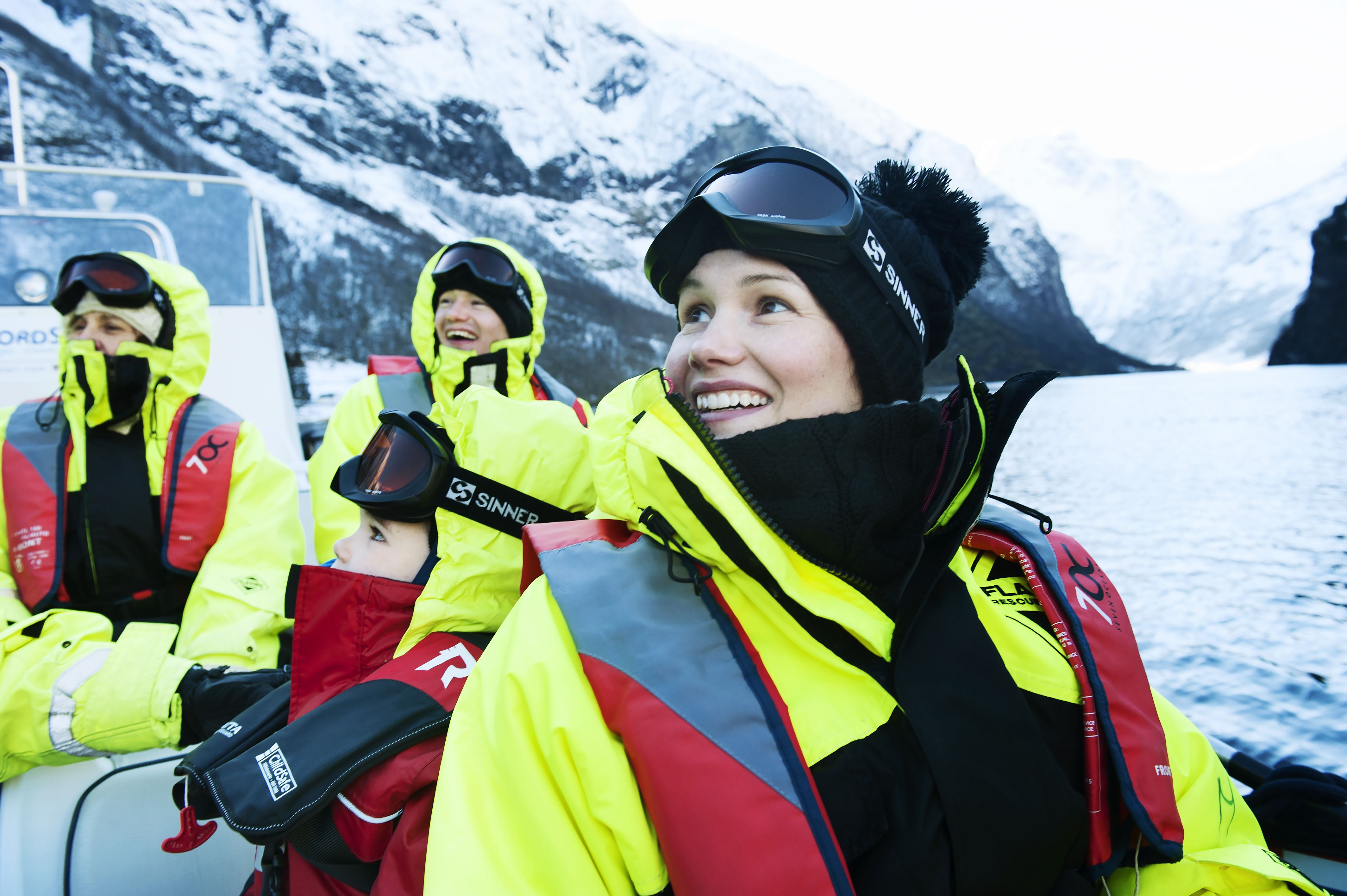 © Thea Hermansen, Vinter FjordSafari og heilaften på Ægir BryggeriPub