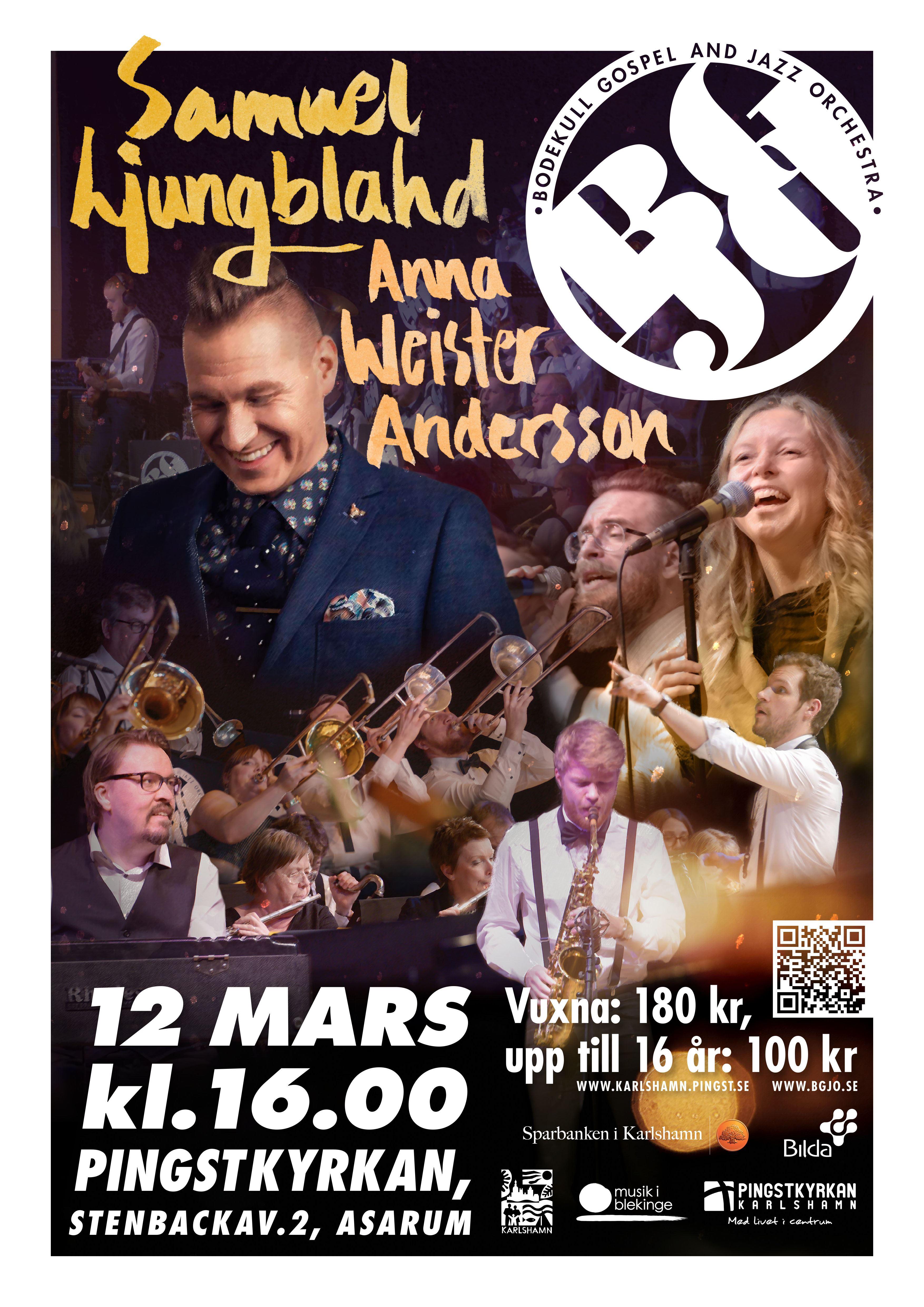 Konsert i Karlshamns Pingstkyrka
