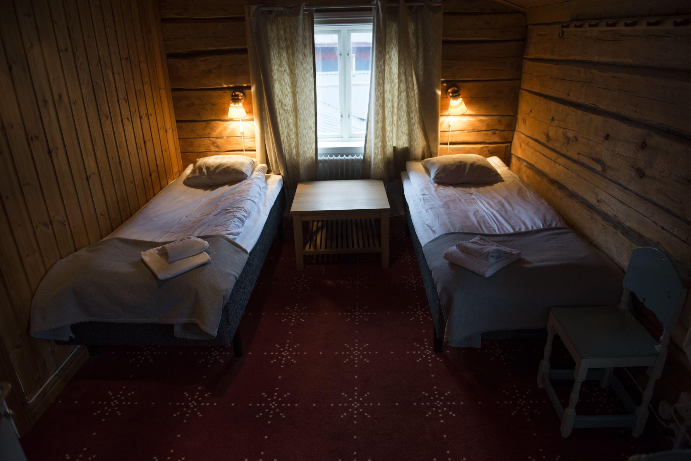 Hemavans Wärdshus-hotellrum