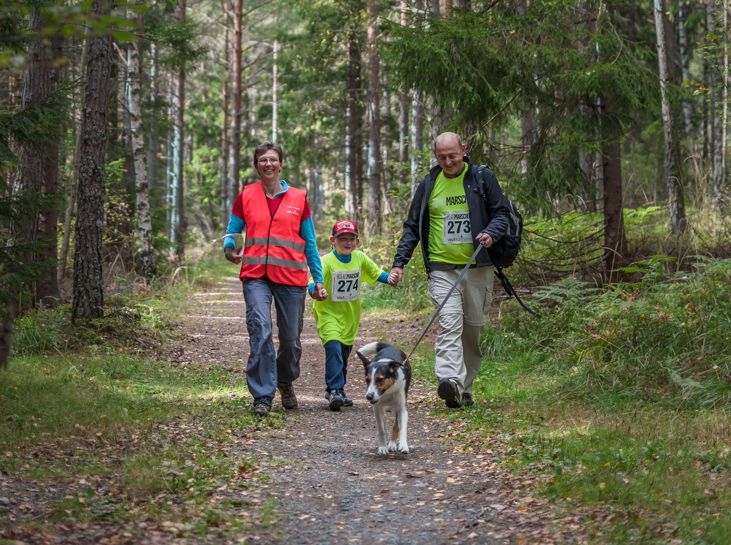 Nya Roslagsmarschen - Hike on the Roslagsleden Trail - 17 th of September
