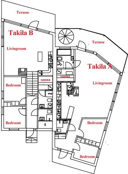 Villa Takila B 4+2 hengelle | Forlake Oy