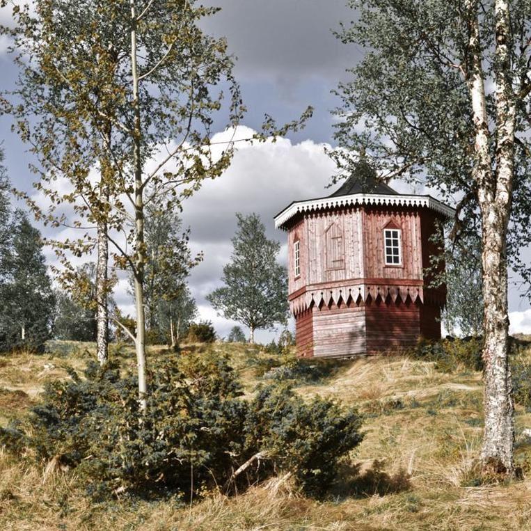 Bergstugan at Fröå Gruva (Fröå mines)