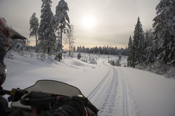Hyra Snöskoter