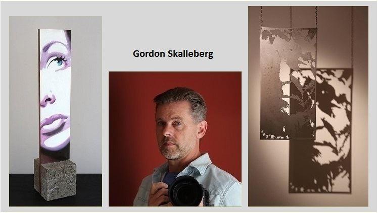 Utställning Gordon Skalleberg, Måleri