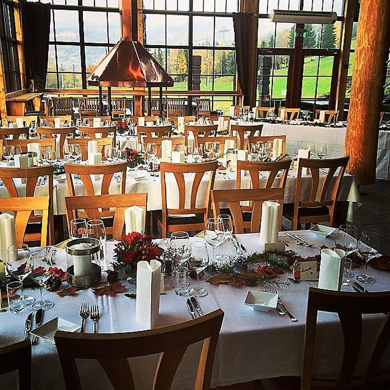 The menu Lodge Restaurant Food & Beverange in Hafjell