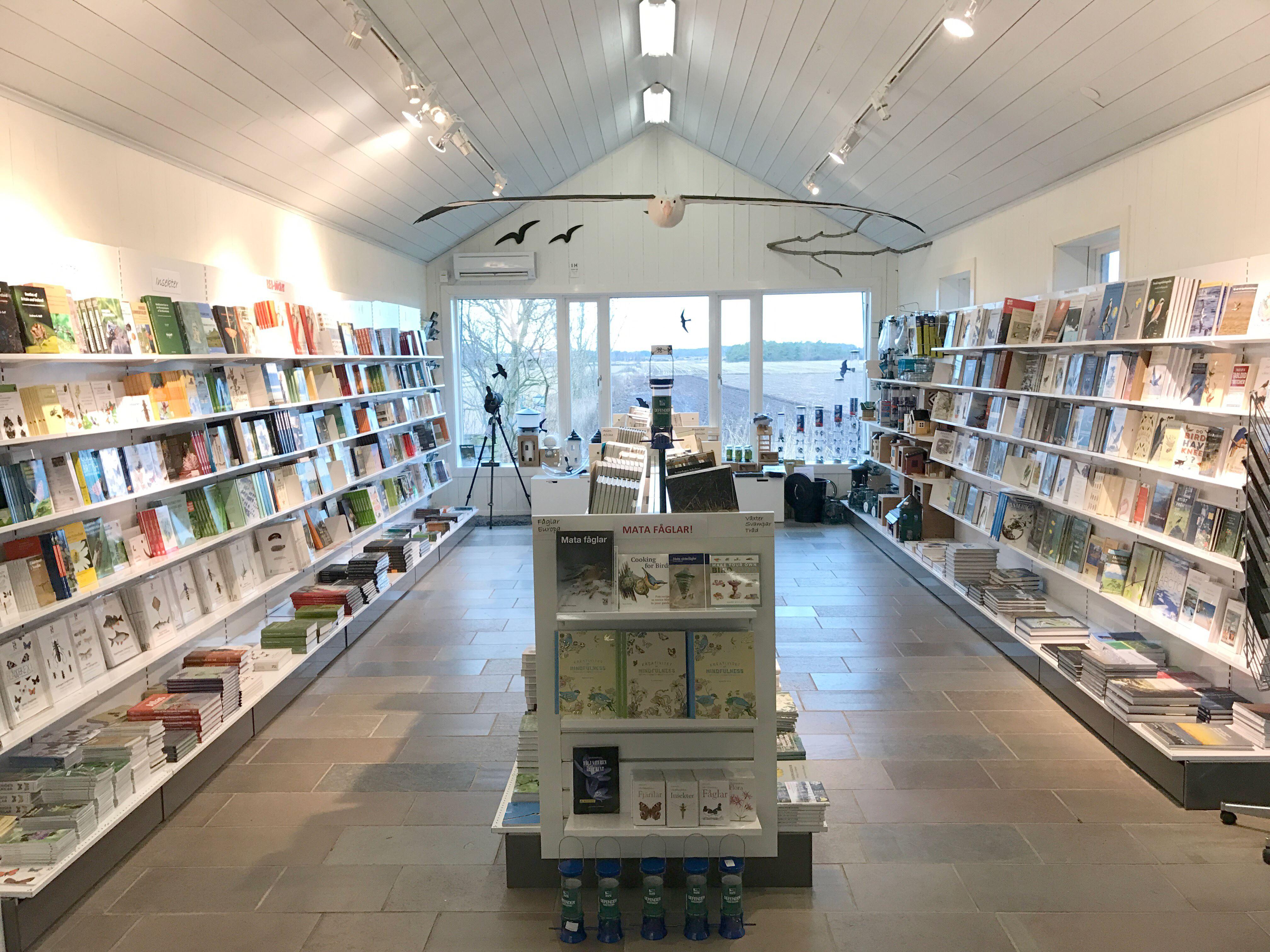 Naturbokhandeln i Stenåsa