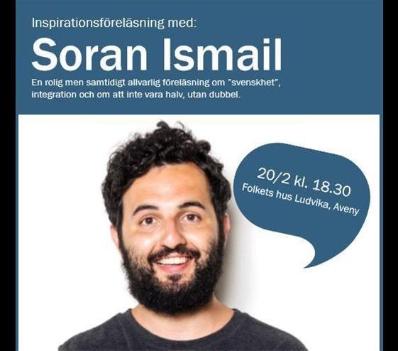 Inspirationsföreläsning med Soran Ismail