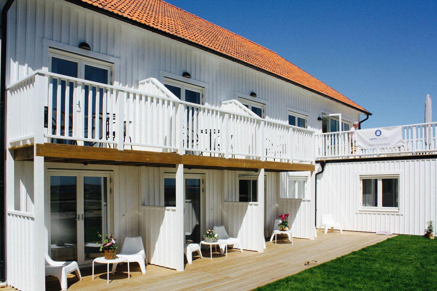Lotsvillan's hostel