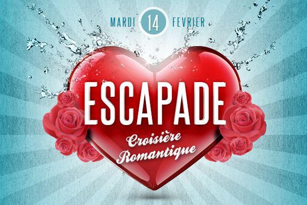 Dîner Croisière pour la Saint Valentin à bord de l'Escapade