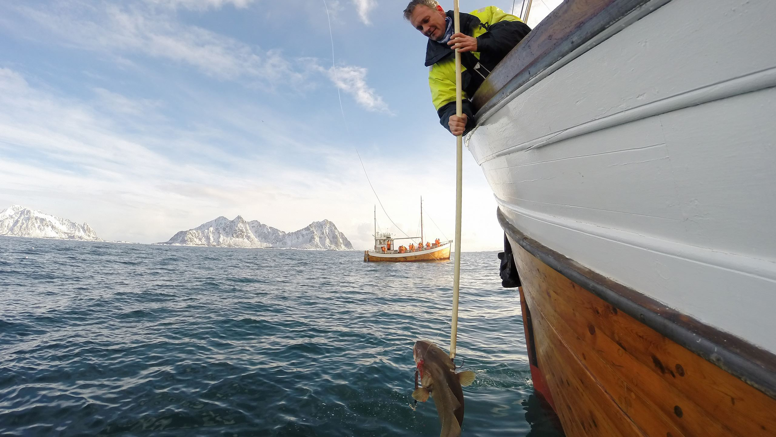 Traditional fishing trip from Svolvær