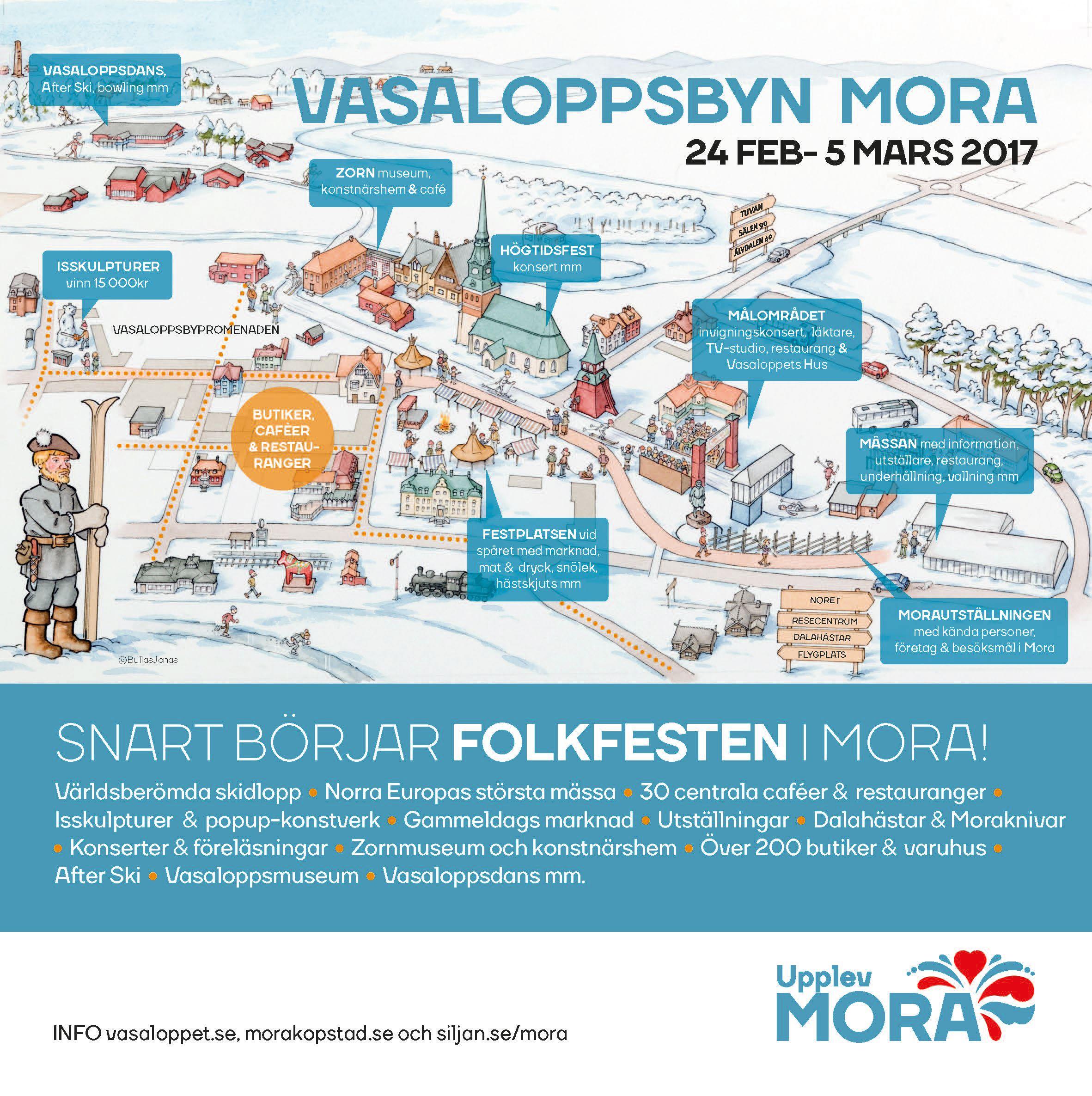Vasaloppsbyn, Mora