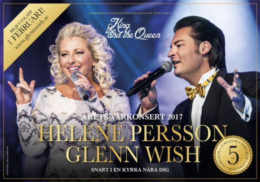 Vårkonsert med Glenn Wish och Helene Persson
