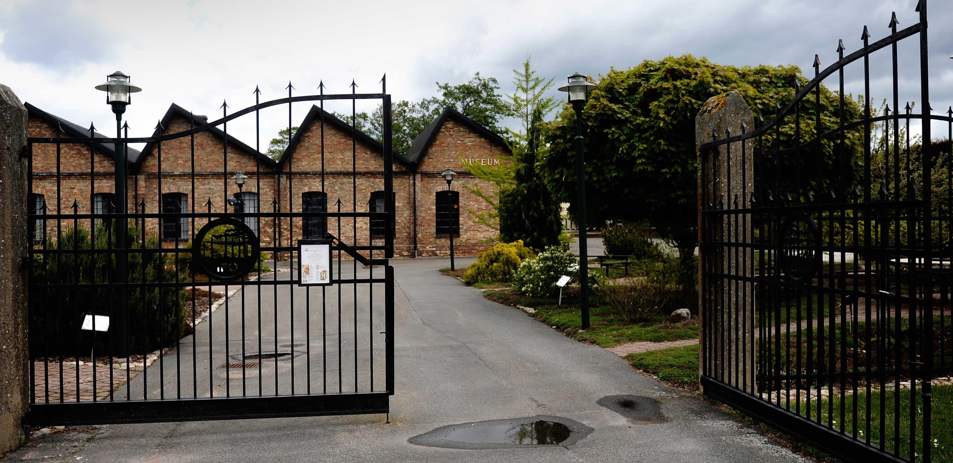 Utställning på Iföverkens industrimuseum