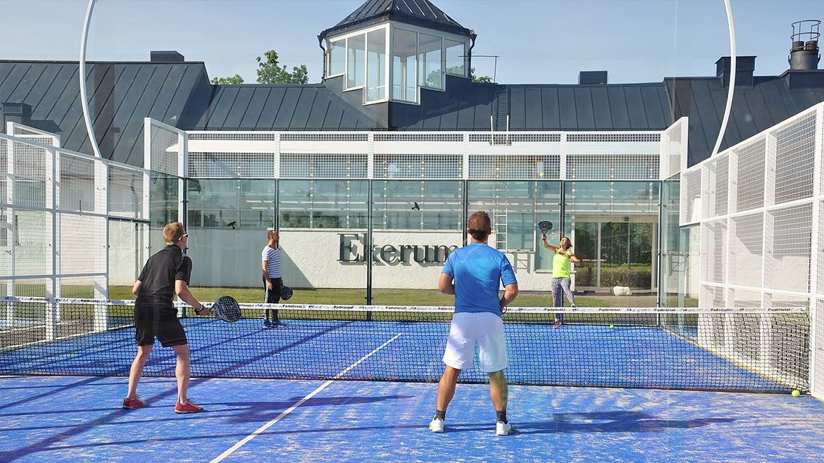 Padeltennis - Ekerum Resort Öland