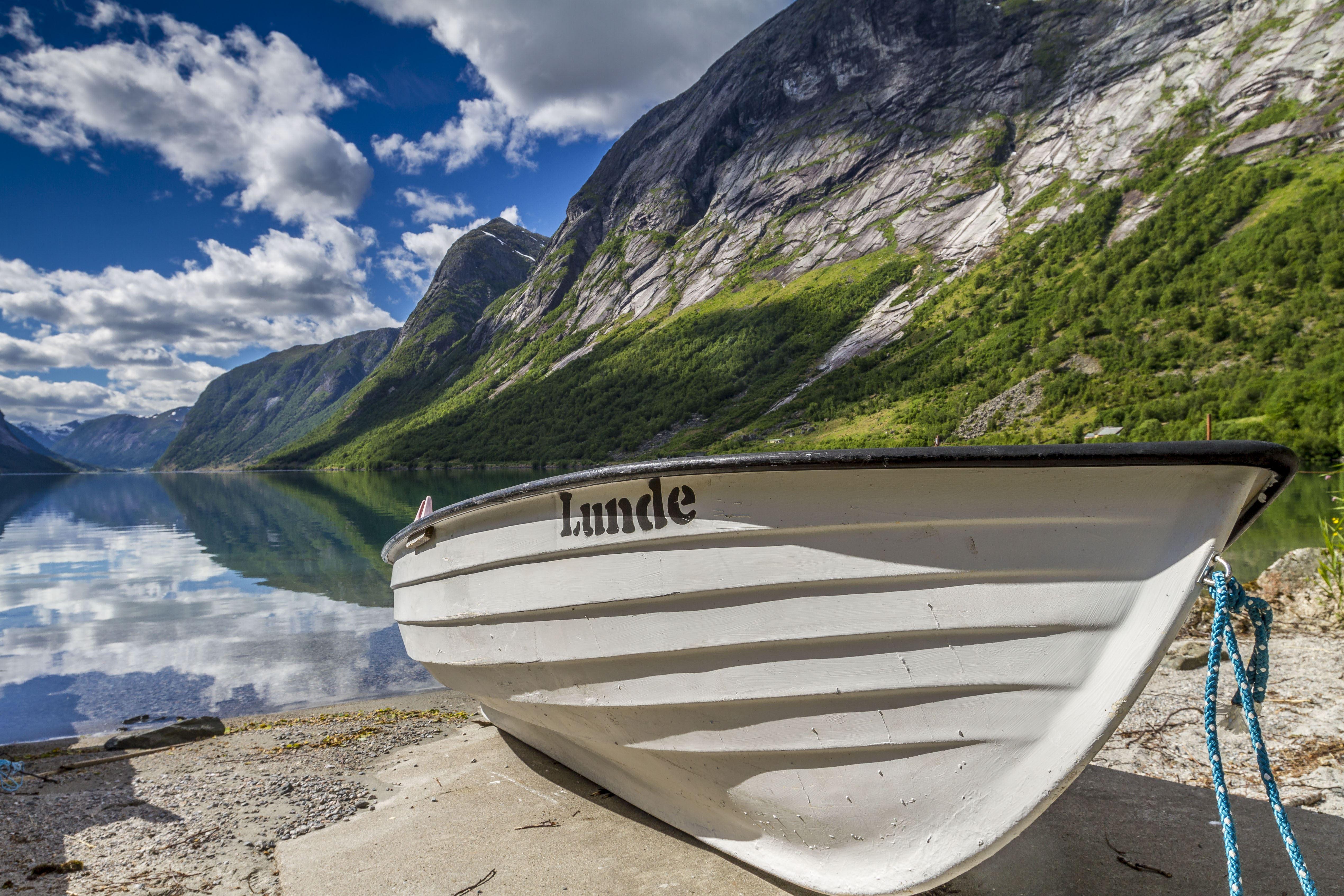 Båtutleige utan motor