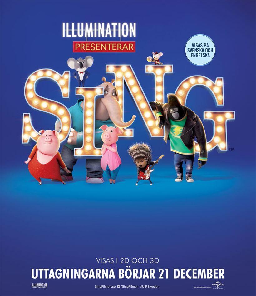 Filmettan presenterar: SING