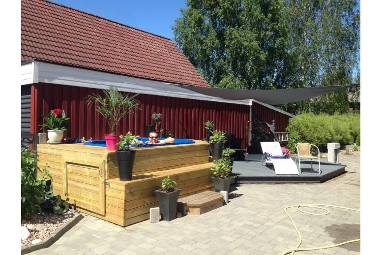 Arvika - Villa i Arvika med terasspool