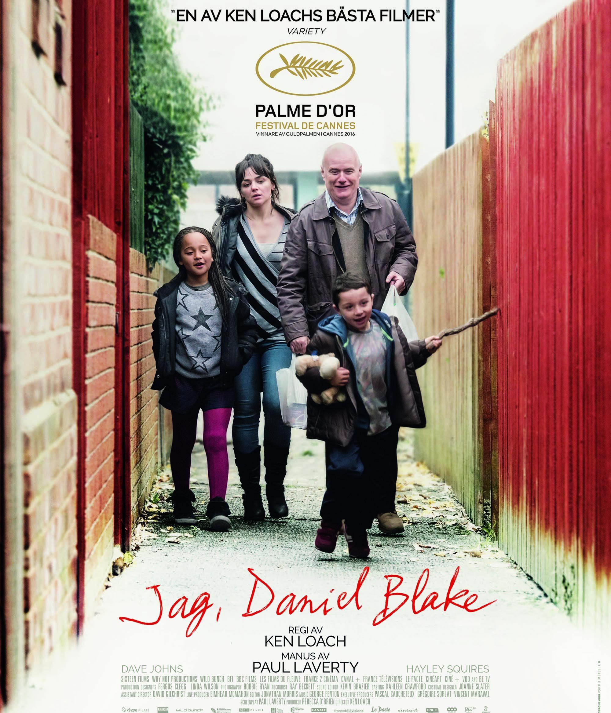Södertälje Filmstudio visar: JAG, DANIEL BLAKE