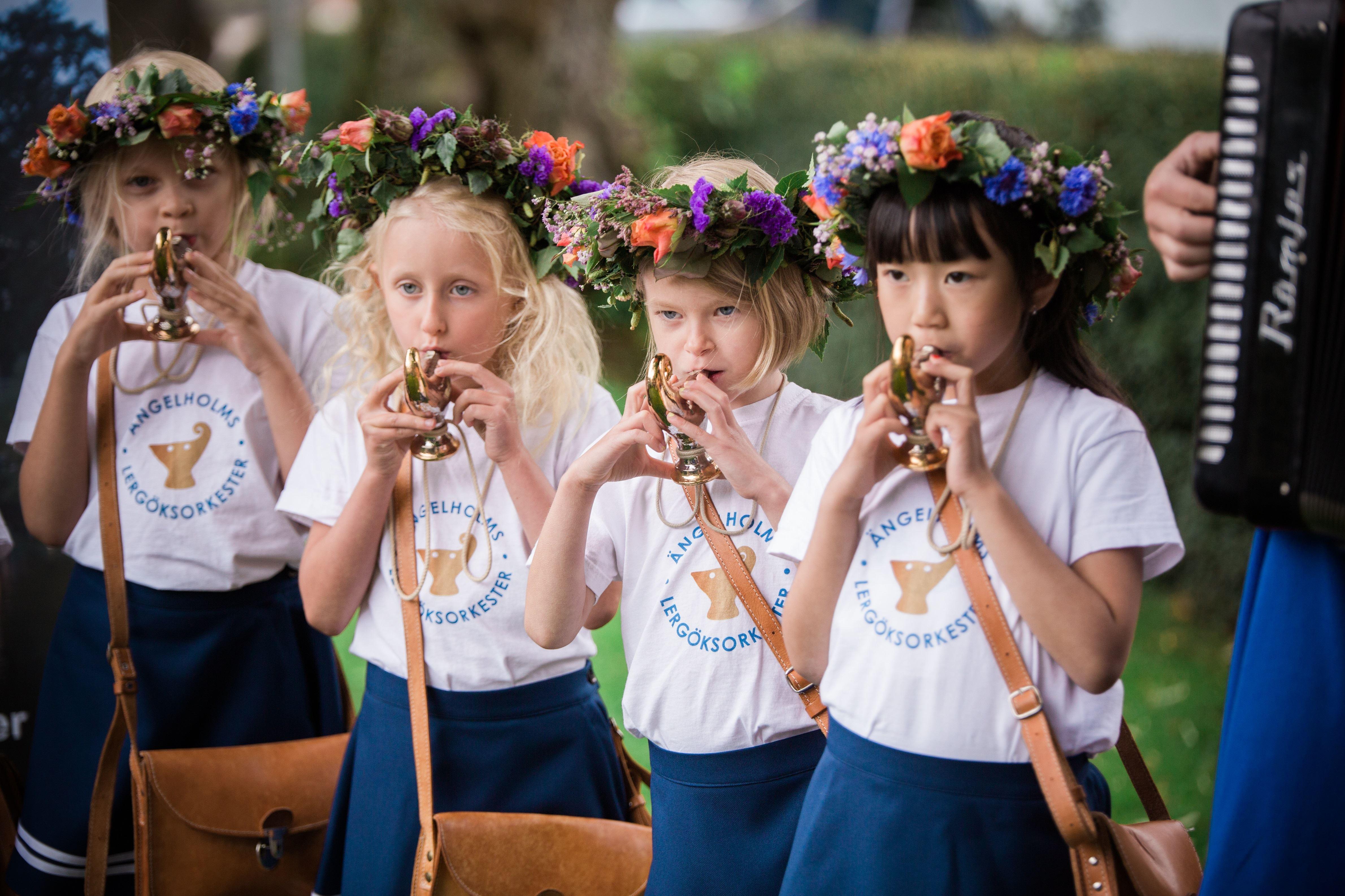 Konsert med Lergöksorkestern