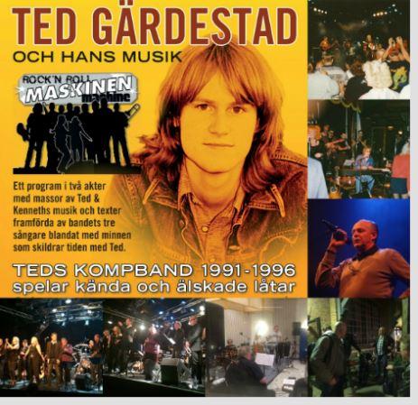 En hyllning till TED GÄRDESTAD och hans musik - Köpmanberget