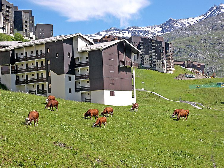 4 Pers Studio + Cabin 50m from the slopes / ASTERS A1 318