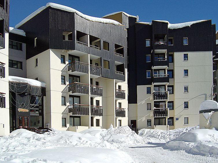 Studio 4 Pers skis aux pieds / GENTIANES 110