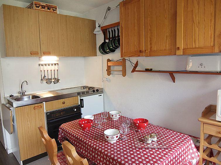 Studio Cabine 4 Pers skis aux pieds / SARVAN 424